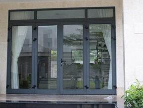 Báo giá cửa nhôm Austdoor, cửa nhôm Xingfa AD 55 giá rẻ 2021