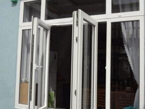 Cửa nhôm kính 2 cánh hệ cửa sổ Xingfa nhập khẩu chính hãng.