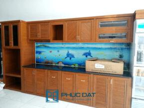 Lắp đặt tủ nhôm Omega Deco, tủ bếp nhôm nội thất Omega giá tốt