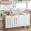 Chuyên thiết kế lắp đặt tủ bếp di động, tủ bếp rời thông minh giá rẻ 2021