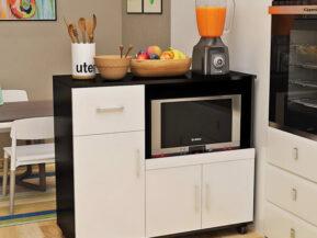 Mẫu tủ bếp di động đẹp thiết kế lắp đặt bởi đội ngũ Phúc Đạt.