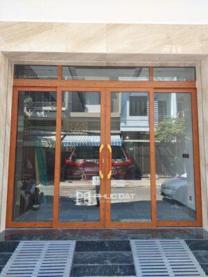 Công trình cửa nhôm Zhongkai trượt quay lắp đặt tại Thanh Khê, Đà Nẵng