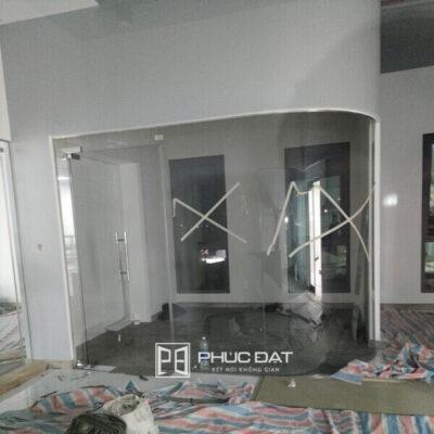 Công trình kính cường lực vách kính, cửa kính Biên Hòa, Đồng Nai