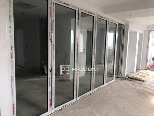 Công trình cửa nhôm kính chung cư HH2 Bắc Hà, Quận Nam Từ Liêm, Hà Nội